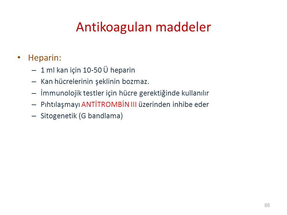 Antikoagulan maddeler