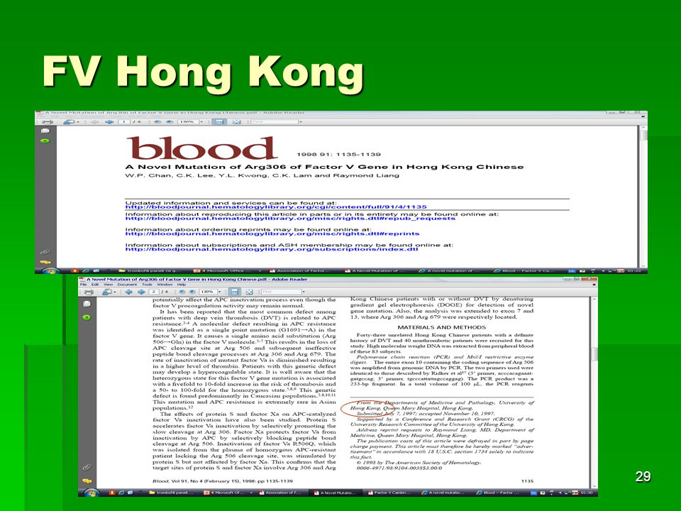 FV Hong Kong Tıbbi Genetik AD.