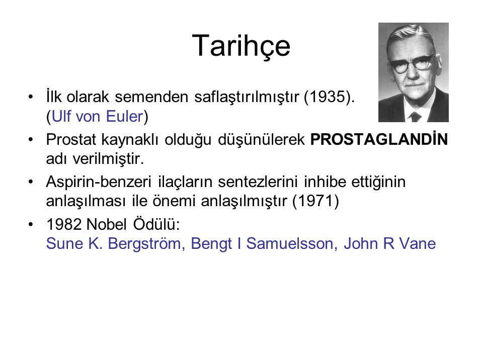 Tarihçe İlk olarak semenden saflaştırılmıştır (1935). (Ulf von Euler)