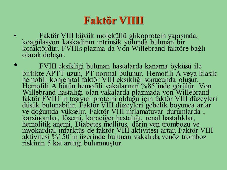 Faktör VIIII
