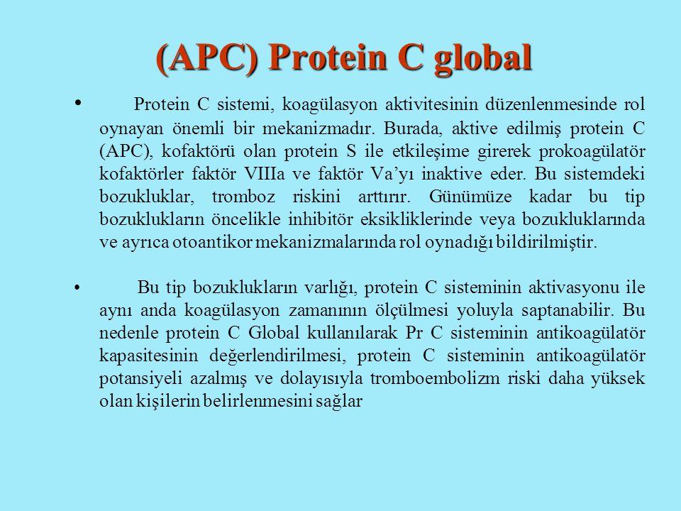 (APC) Protein C global