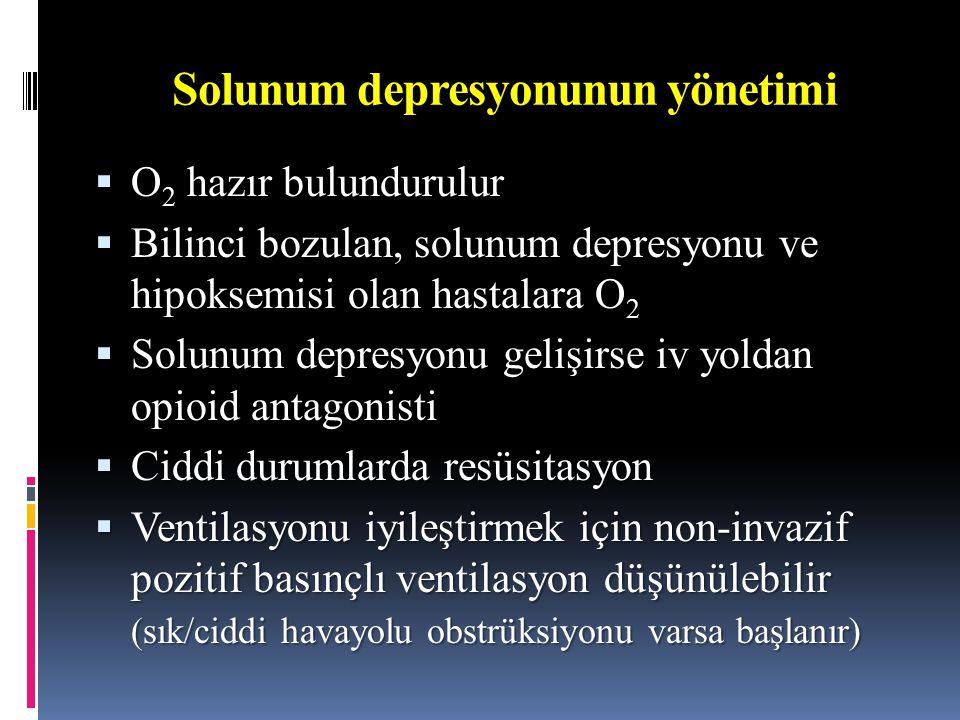 Solunum depresyonunun yönetimi