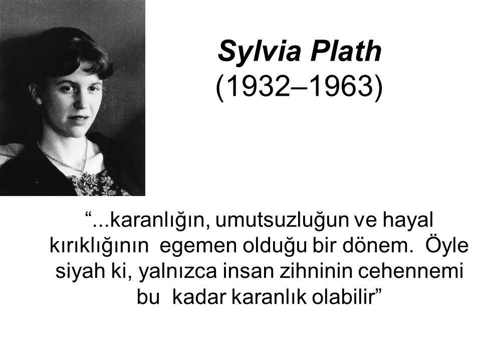 Sylvia Plath (1932–1963)
