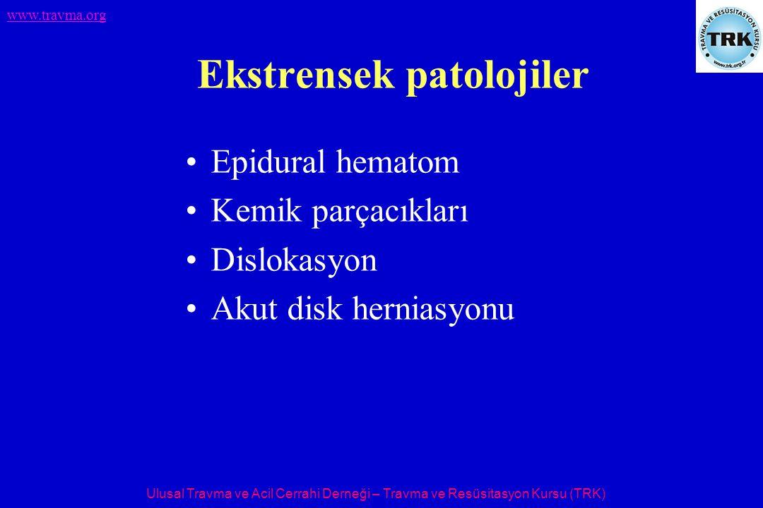 Ekstrensek patolojiler