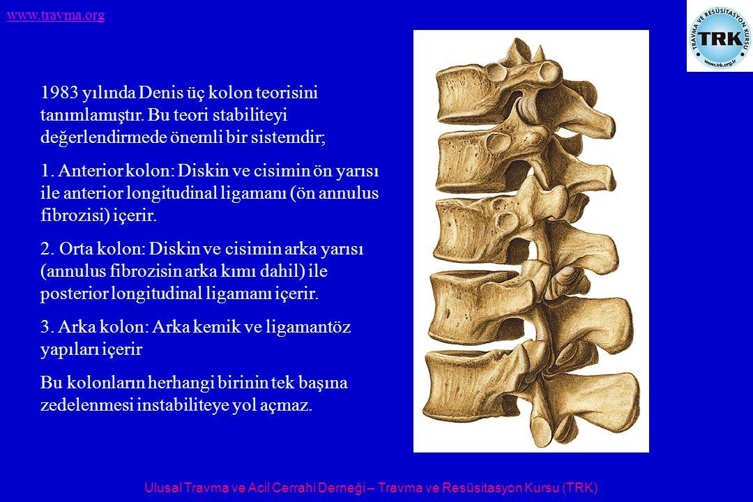 1983 yılında Denis üç kolon teorisini tanımlamıştır
