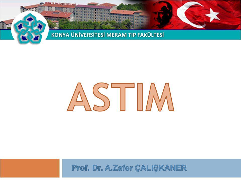 ASTIM Prof. Dr. A.Zafer ÇALIŞKANER