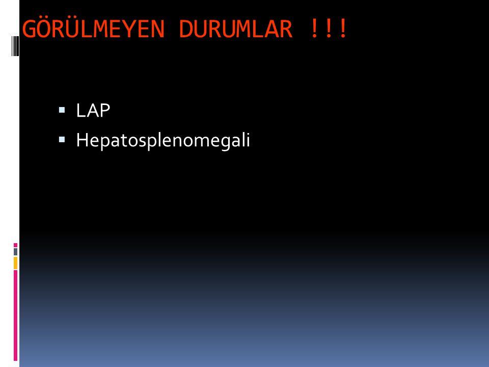 GÖRÜLMEYEN DURUMLAR !!! LAP Hepatosplenomegali