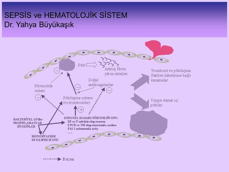 SEPSİS ve HEMATOLOJİK SİSTEM