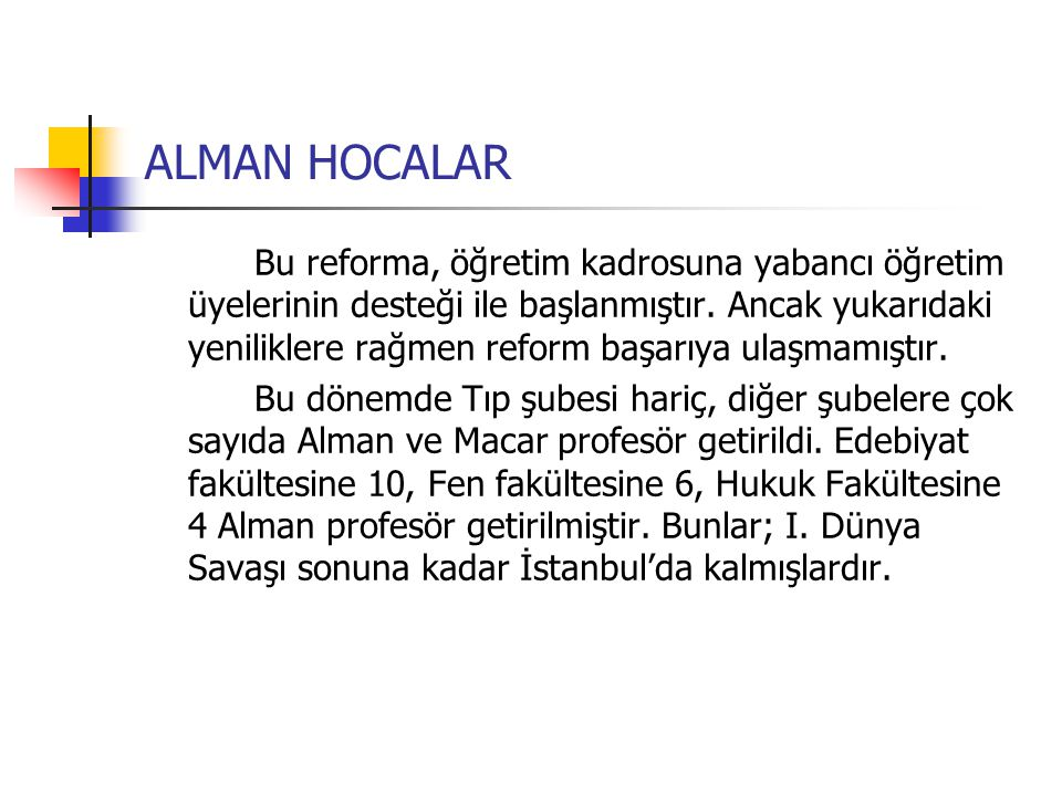 ALMAN HOCALAR