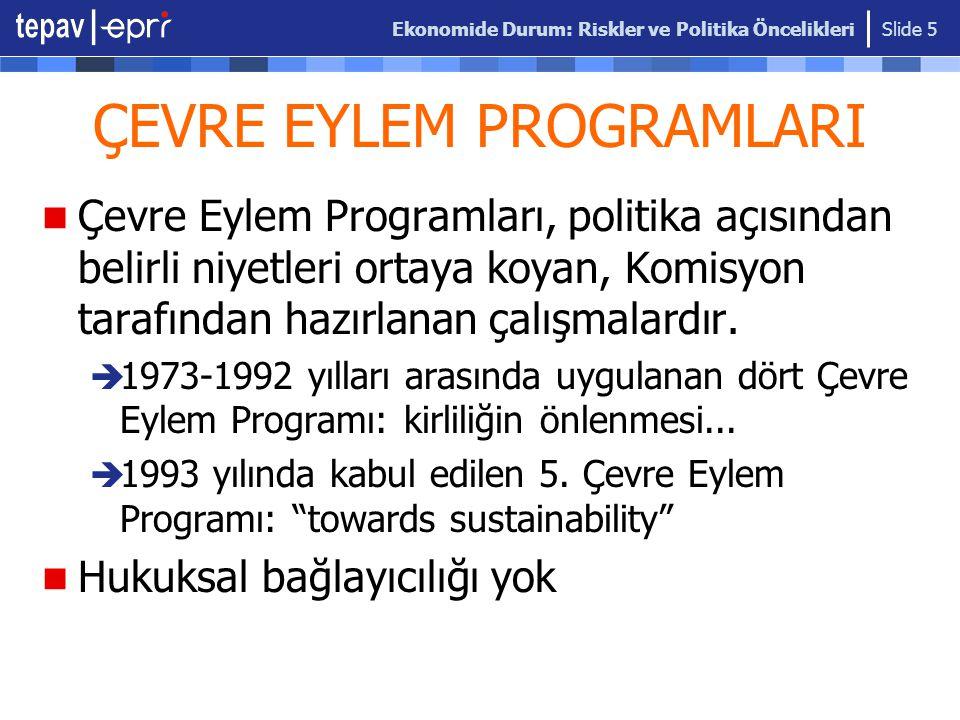 ÇEVRE EYLEM PROGRAMLARI