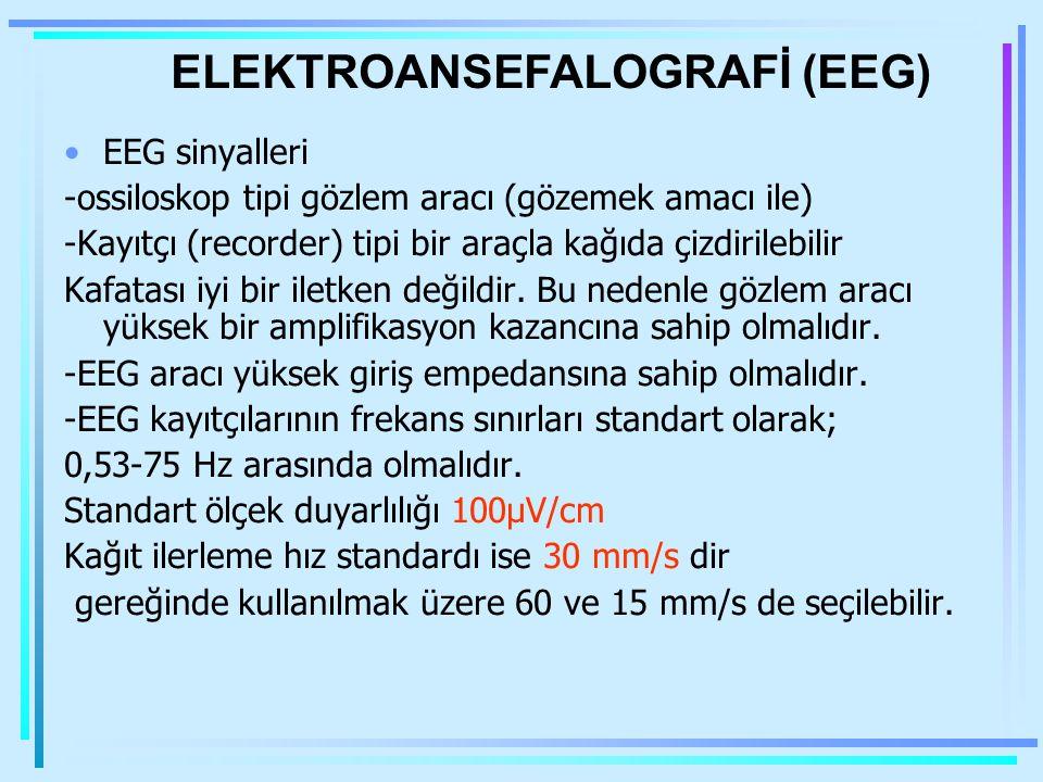 ELEKTROANSEFALOGRAFİ (EEG)