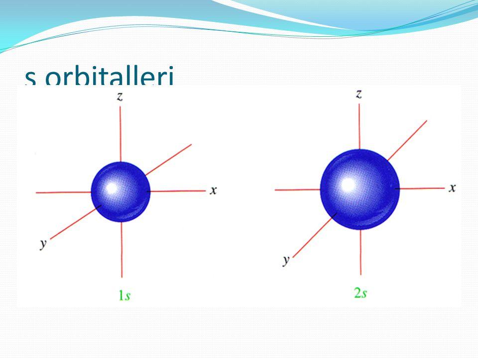 s orbitalleri