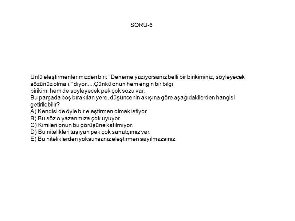 SORU-6