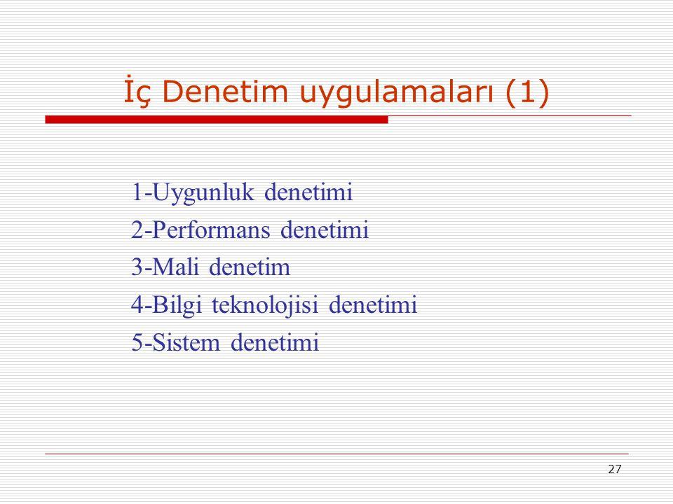 İç Denetim uygulamaları (1)