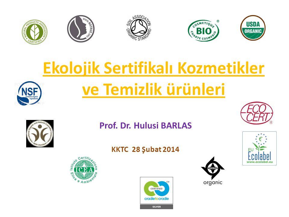 Ekolojik Sertifikalı Kozmetikler ve Temizlik ürünleri