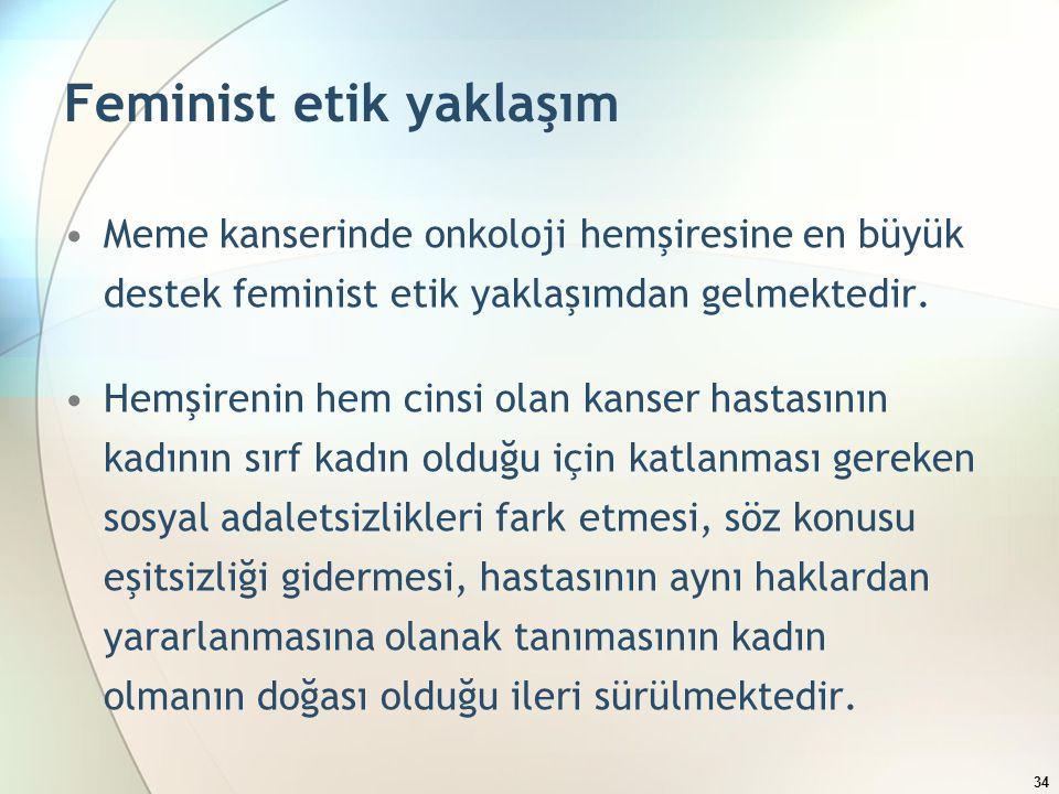 Feminist etik yaklaşım