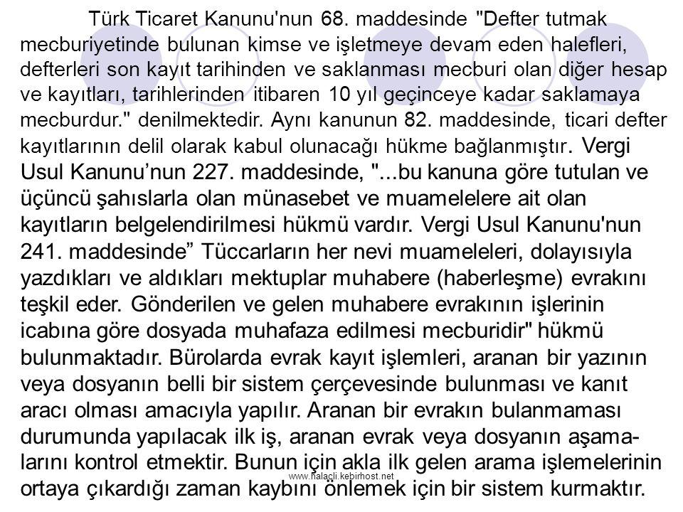 Türk Ticaret Kanunu nun 68