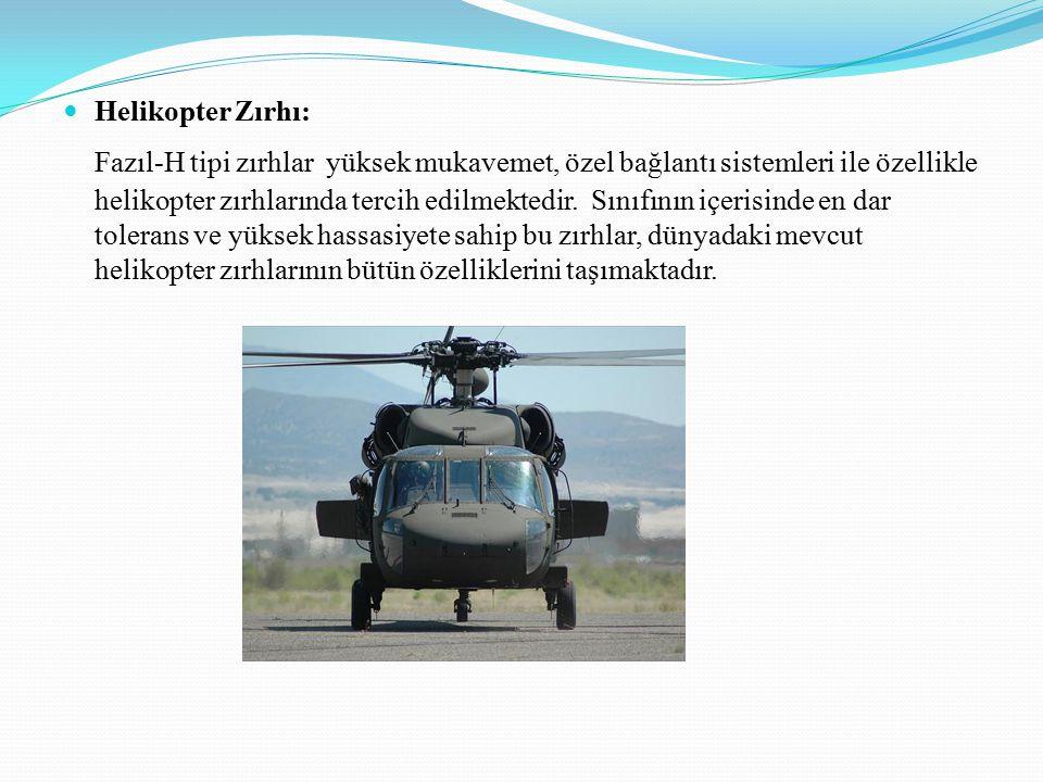 Helikopter Zırhı: