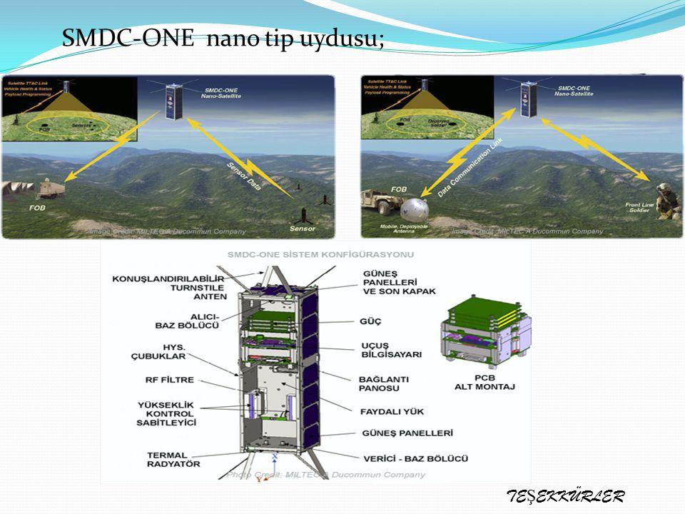 SMDC-ONE nano tip uydusu;