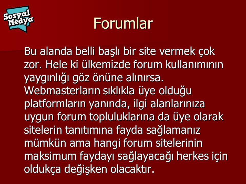 Forumlar