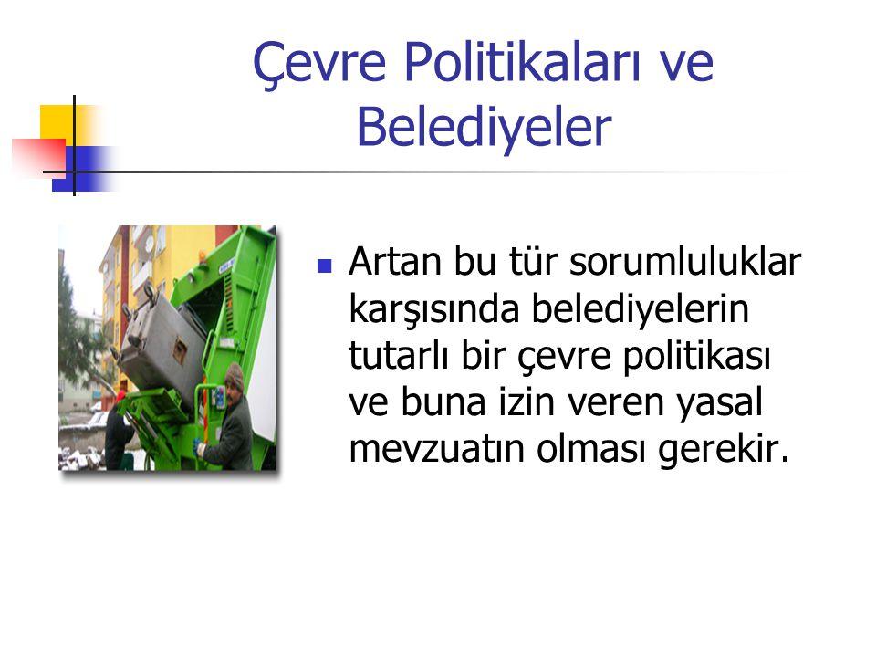 Çevre Politikaları ve Belediyeler