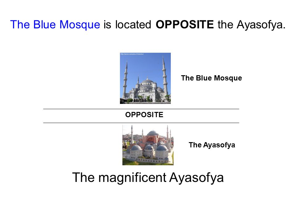 The magnificent Ayasofya