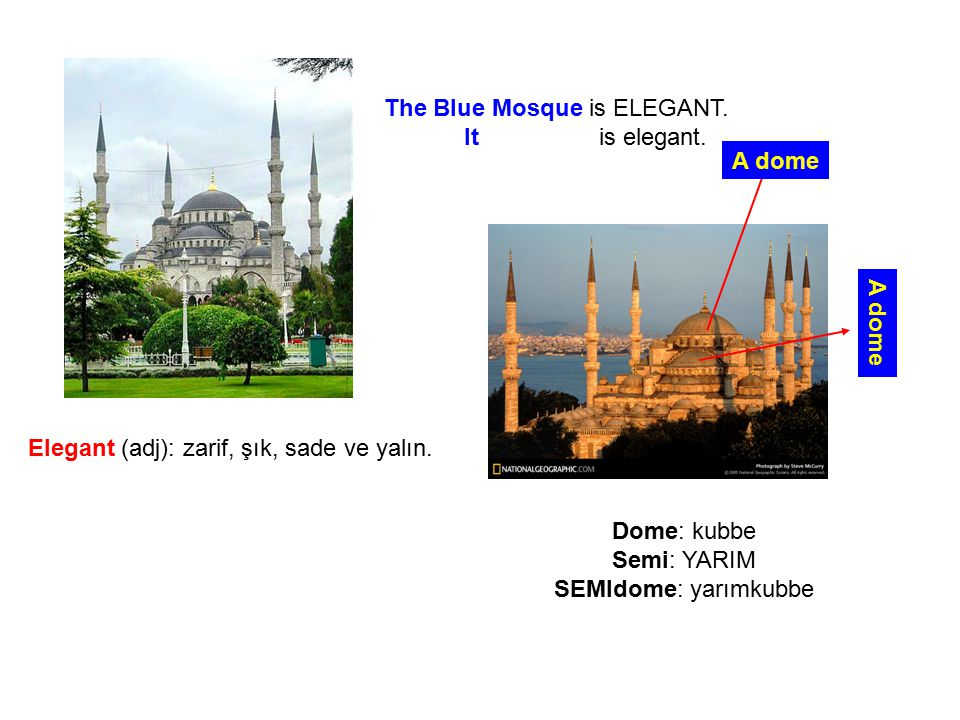 The Blue Mosque is ELEGANT.