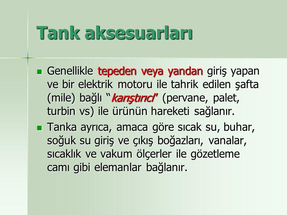 Tank aksesuarları