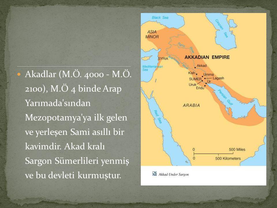 Akadlar (M.Ö. 4000 - M.Ö.