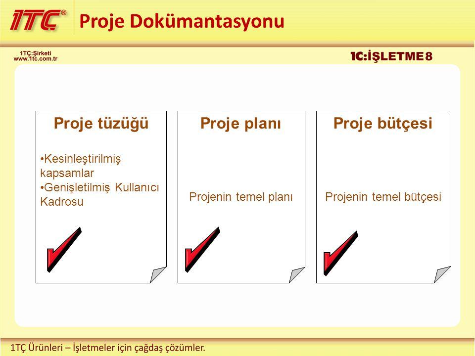 Projenin temel bütçesi