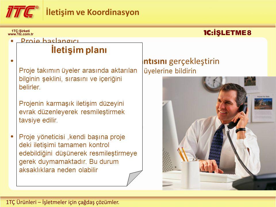 İletişim ve Koordinasyon