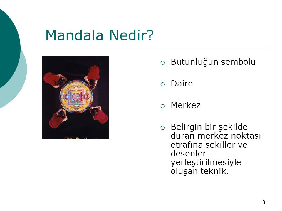 Mandala Nedir Bütünlüğün sembolü Daire Merkez