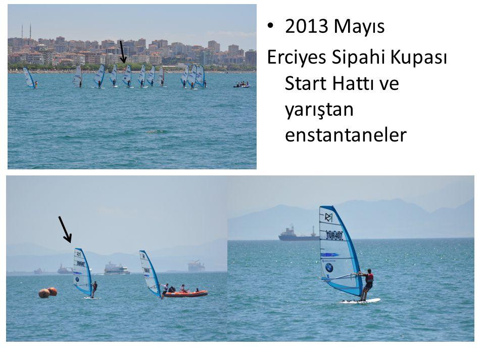 2013 Mayıs Erciyes Sipahi Kupası Start Hattı ve yarıştan enstantaneler