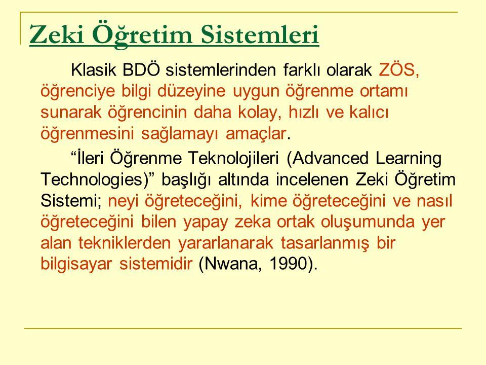 Zeki Öğretim Sistemleri