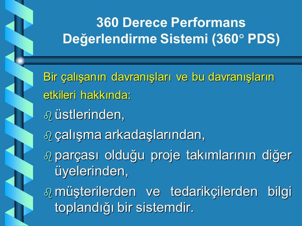 360 Derece Performans Değerlendirme Sistemi (360 PDS)