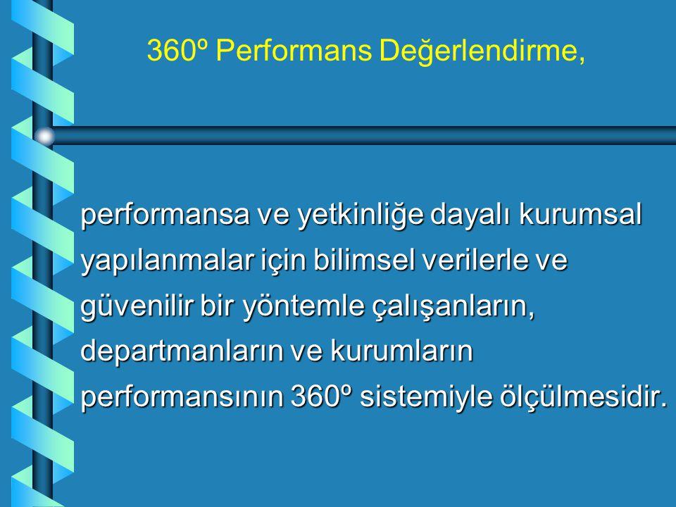 360º Performans Değerlendirme,