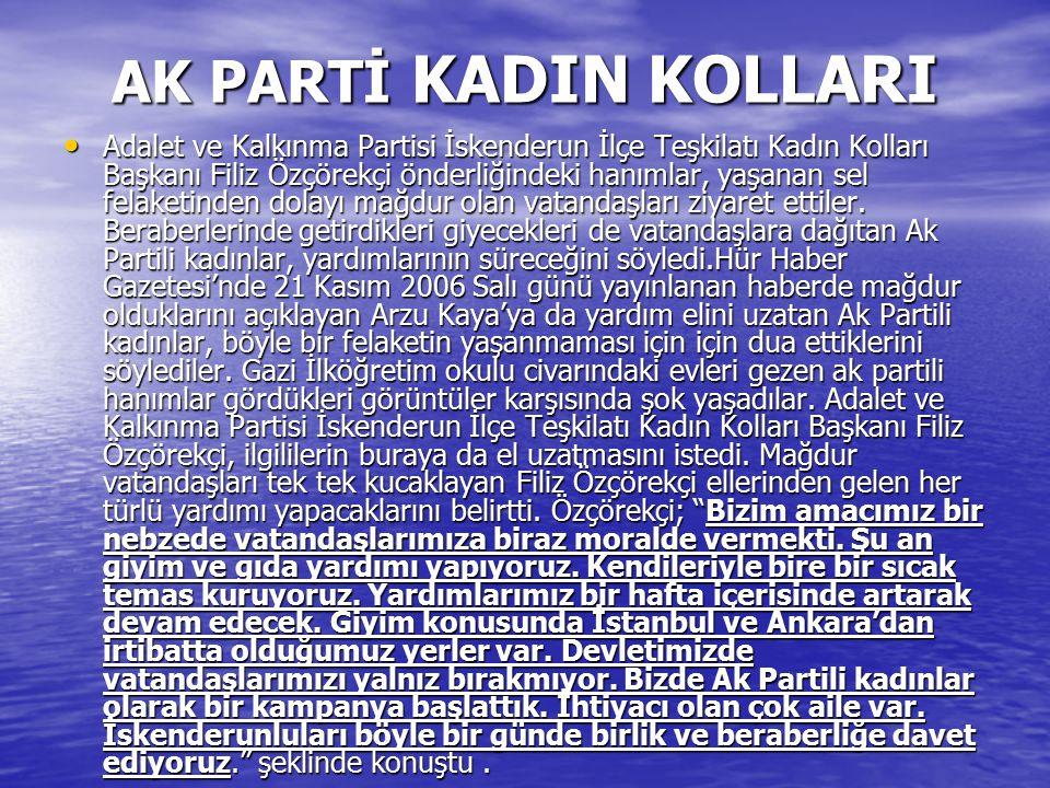 AK PARTİ KADIN KOLLARI