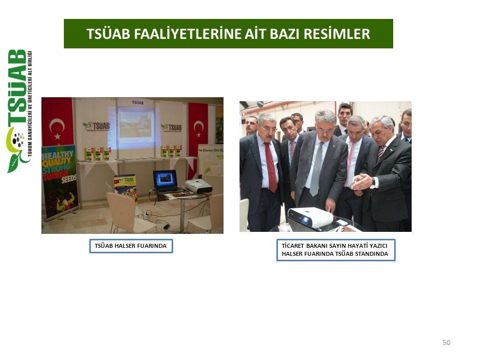 TSÜAB FAALİYETLERİNE AİT BAZI RESİMLER