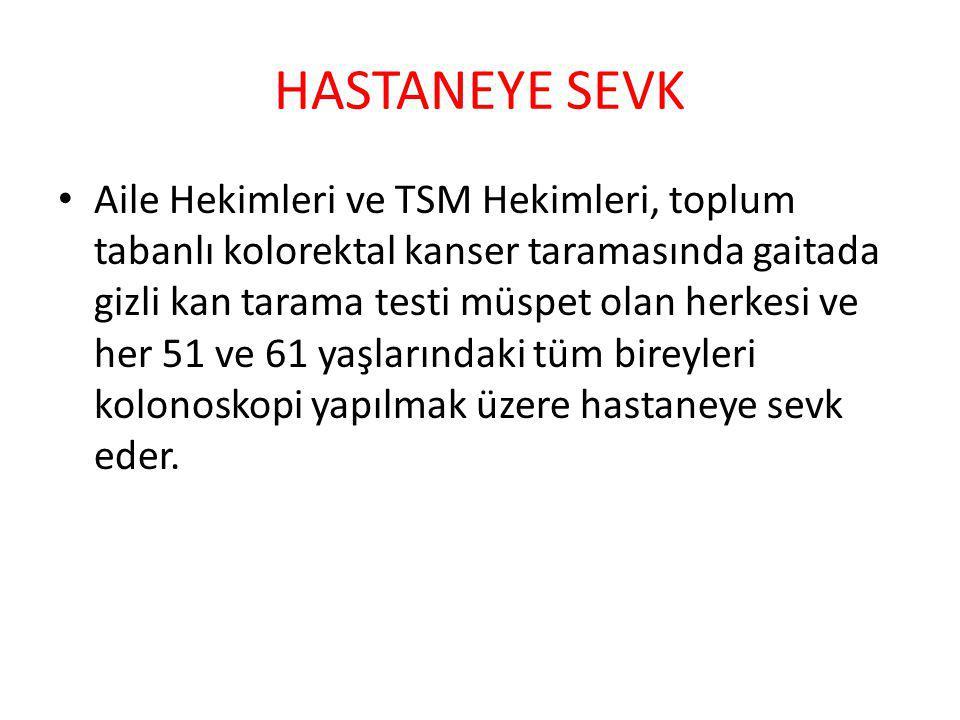 HASTANEYE SEVK