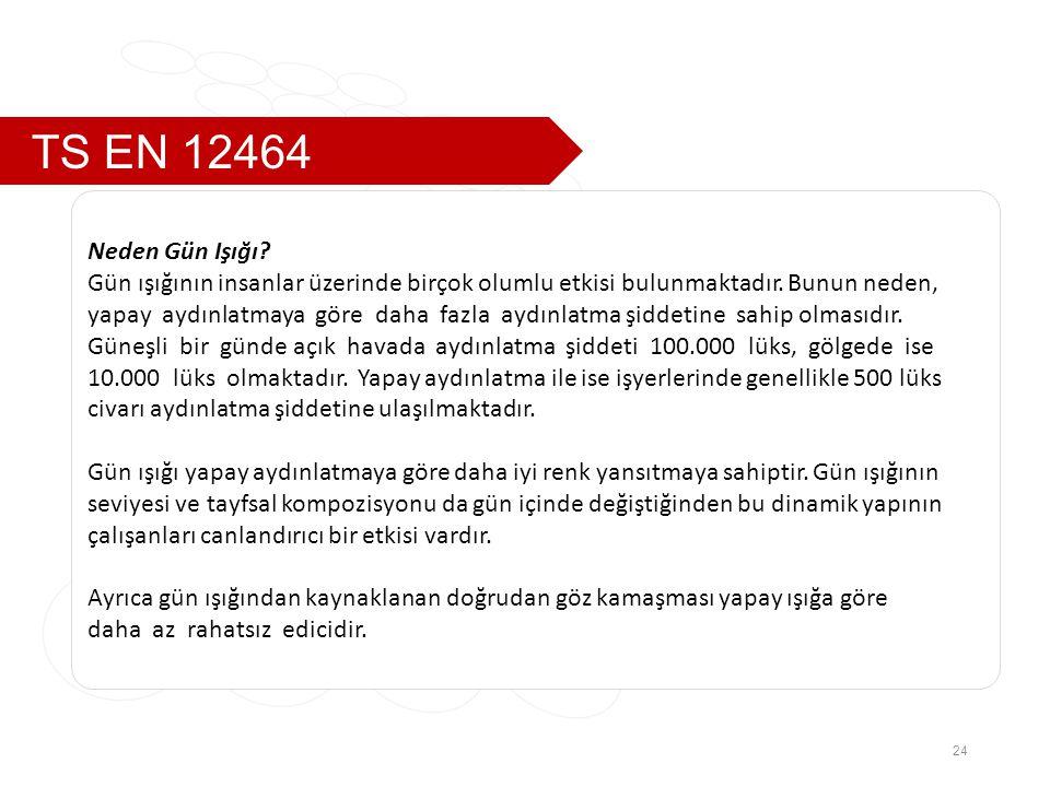 TS EN 12464 Neden Gün Işığı