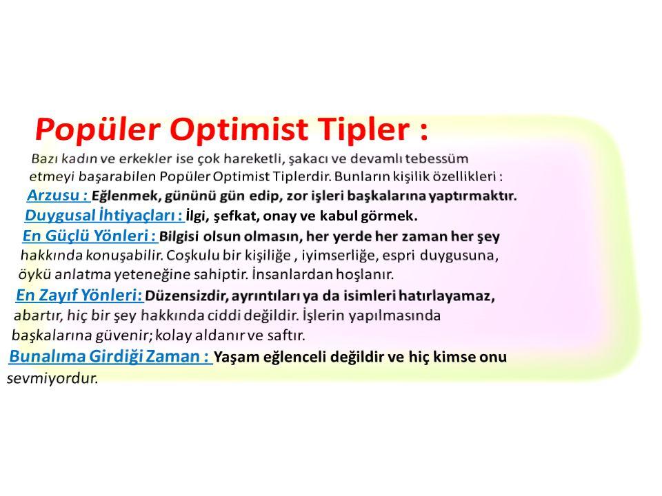Popüler Optimist Tipler :