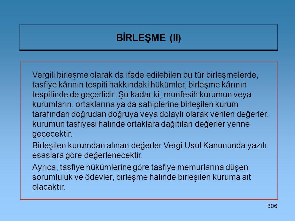 BİRLEŞME (II)