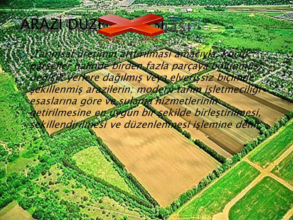 Arazi Toplulaştırması