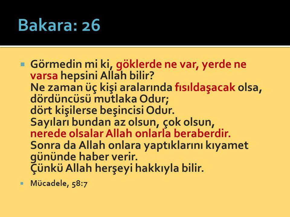 Bakara: 26