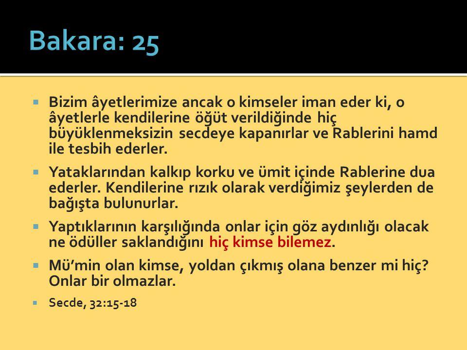 Bakara: 25