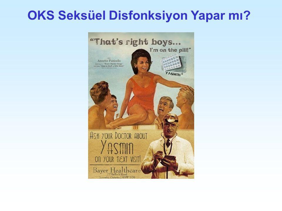 OKS Seksüel Disfonksiyon Yapar mı