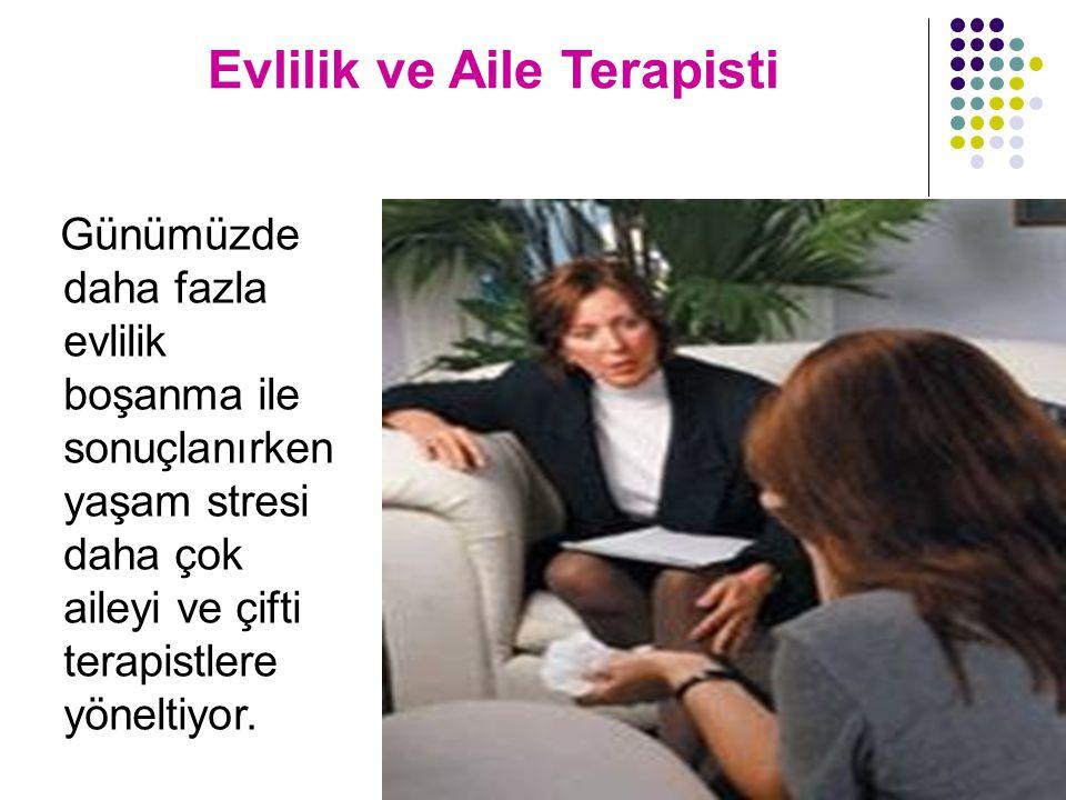Evlilik ve Aile Terapisti