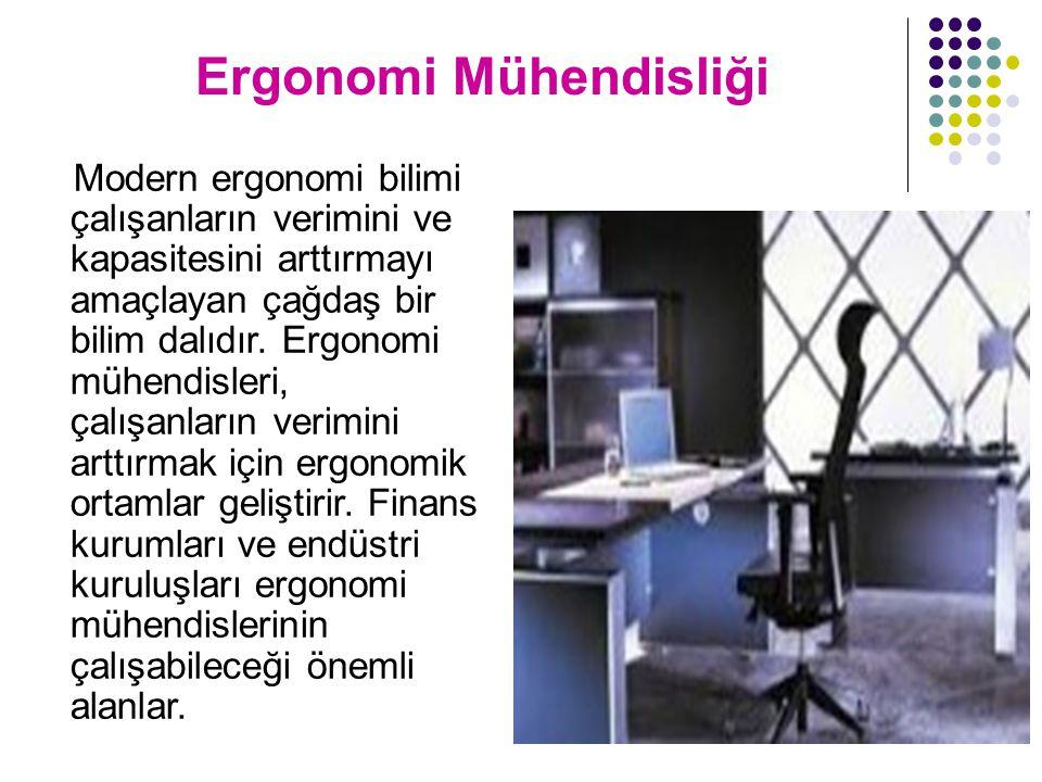 Ergonomi Mühendisliği