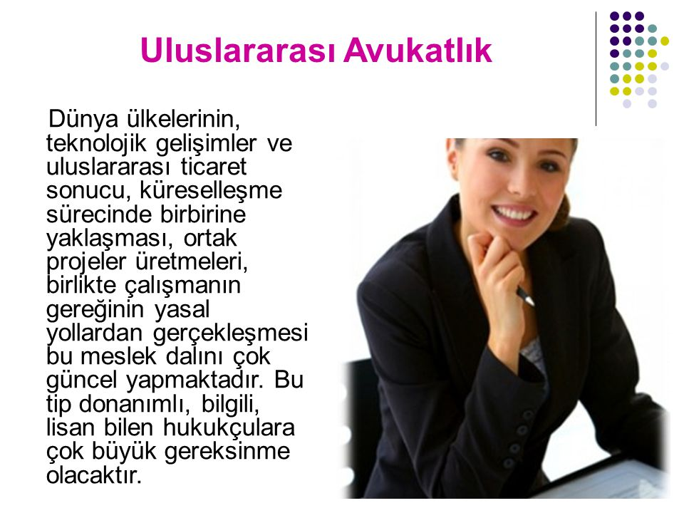 Uluslararası Avukatlık