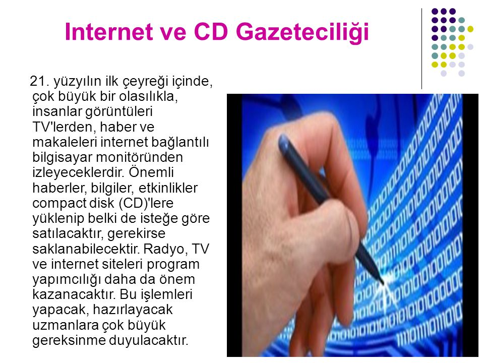 Internet ve CD Gazeteciliği